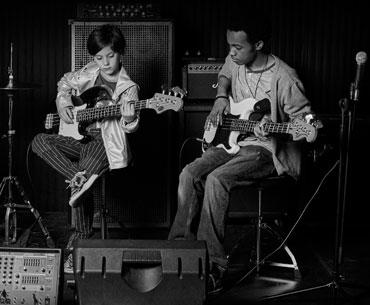 Le cours de musique rock
